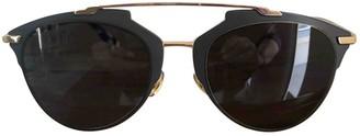 Christian Dior So Real Brown Plastic Sunglasses