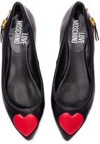 Love Moschino Heart Flat