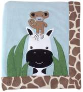 Lambs & Ivy Lambs and Ivy Peek A Boo Jungle Receiving Blanket