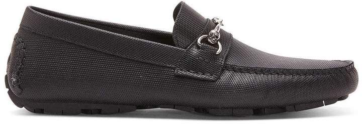 Donald J Pliner HENCE, Textured Calf Leather Driving Loafer