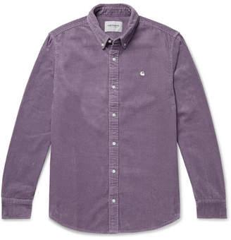 Carhartt Wip Madison Button-Down Collar Cotton-Corduroy Shirt