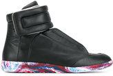 Maison Margiela Black Future high top sneakers - men - Leather/rubber - 41.5