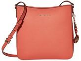 MICHAEL Michael Kors Jet Set Travel Large Messenger (Pink Grapefruit) Cross Body Handbags