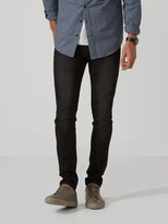 Frank and Oak The Tyler Skinny-Stretch Jean in Washed Black