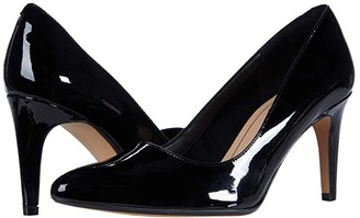 Clarks Laina Rae (Black Patent) Women's Shoes