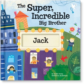 i See Me! 'The Super, Incredible Big Brother' Personalized Hardcover Book & Medal