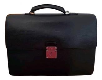Louis Vuitton Robusto Black Leather Bags