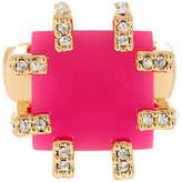 Trina Turk Pave Detail Cube Ring