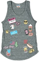 Junk Food Clothing Girl's Emoji Tank Top