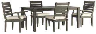 HomeVance Outdoor HomeVance Glen View Patio Dining Table & Chair 5-piece Set