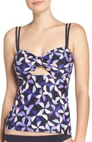 Kate Spade Women's Cutout Tankini Top