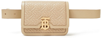 Burberry Embroidered Quilted Leather Belt Bag