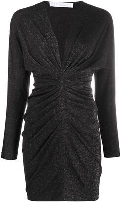 IRO Shimmer Gathered Dress