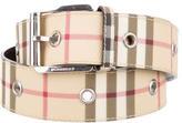 Burberry Nova Check Waist Belt
