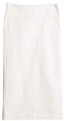 The Row Denim skirt