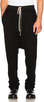 Rick Owens Long Drawstring Pants