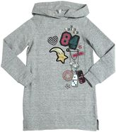 Little Marc Jacobs Hooded Printed Cotton Dress