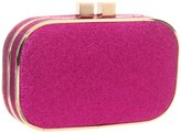 Glitter Rounded Box Clutch