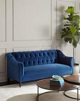 Haute House Raina Tufted Velvet Sofa