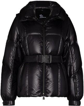 MONCLER GRENOBLE Grossaix hooded down ski jacket