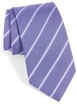 John Varvatos Stripe Silk Tie
