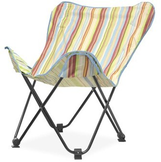Idea Nuova Urban Shop Butterfly Chair Fabric: Natural