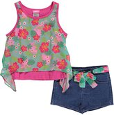 "Penny M Big Girls' ""Tropical Flow"" 2-Piece Outfit"
