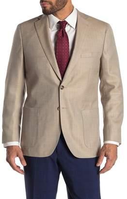 Peter Millar Summer Herringbone Wool Blend Jacket