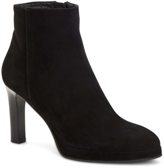 Aquatalia Roxana Suede Zip Booties