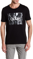 HUGO BOSS Short Sleeve Front Graphic Print Modern Fit Tee