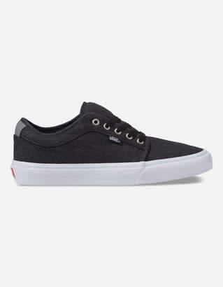 Vans Denim Chukka Low Black & Pewter Shoes