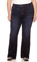 STYLUS Stylus High-Rise Flare Jeans - Plus