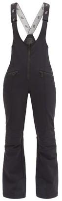 Toni Sailer Lilo Cross-strap Ski Suit - Black