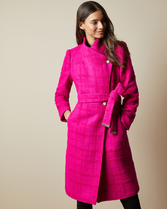 Ted Baker ENNALA Shawl collar wool coat