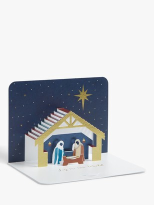 Form Renaissance Nativity Christmas Cards, Pack of 5