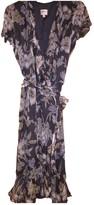 Armani Collezioni Grey Silk Dress for Women