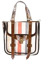 Proenza Schouler Python-Trimmed PS1 Tote