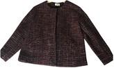 Pablo Burgundy Jacket for Women