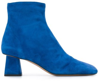 Rayne sculpted heel ankle boots