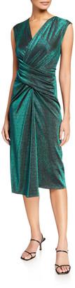 Sies Marjan Gretchen Shimmered Wrap Dress
