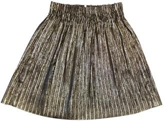 Isabel Marant Silver Viscose Skirts
