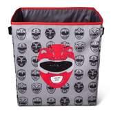 "Power Rangers Gray Storage Bin (13""x13"")"
