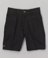 Micros Black Jared Shorts - Toddler & Boys