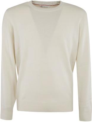 Brunello Cucinelli Ribbed Plain Sweater
