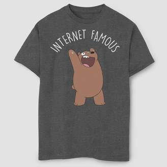 Fifth Sun Boys' We Bare Bears Internet Famous T-Shirt -