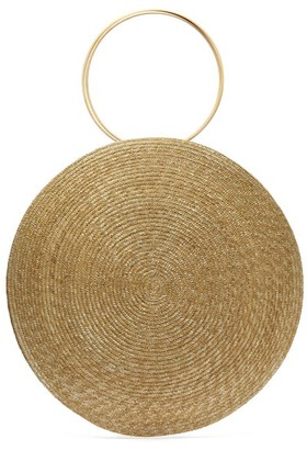 BEIGE Eliurpi - Circle Maxi Woven-straw Bag - Womens