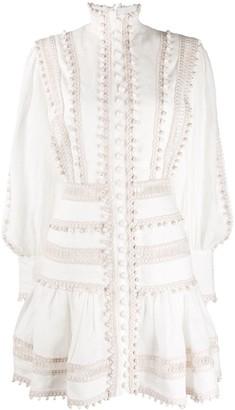 Zimmermann bauble-embellished flared dress