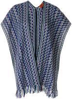 Missoni shawl-style knitted cardigan