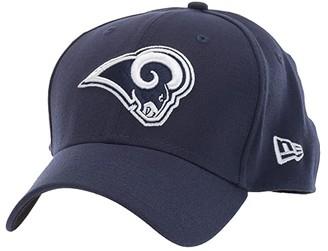 New Era NFL Team Classic 39THIRTY Flex Fit Cap - Los Angeles Rams (Navy) Baseball Caps