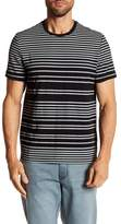 Kenneth Cole New York Striped Crew Neck Tee